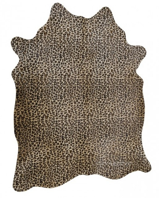 Leopardo fundo Bege